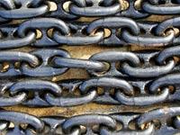 מתכת שרשראות שרשת ברזל מתכות סחורות / צלם: פוטוס טו גו